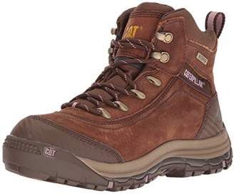 "Caterpillar Women's Ally 6"" Waterproof Industrial and Construction Shoe"