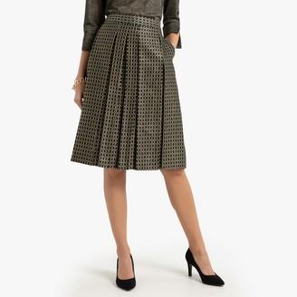 Anne Weyburn Jacquard Full Midi Skirt