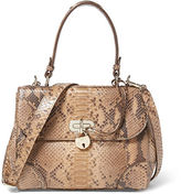 Ralph Lauren Small Python Tiffin Bag