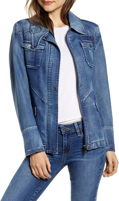 Sam Edelman Denim Field Jacket