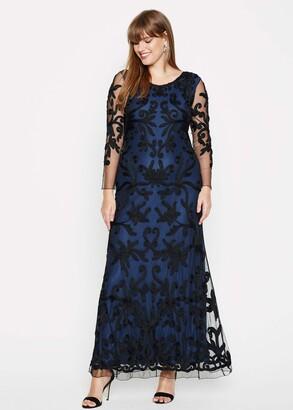 Phase Eight Jenna Tapework Lace Maxi Dress