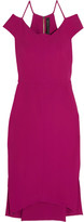 Roland Mouret Beatrix Cutout Stretch-crepe Dress - Pink