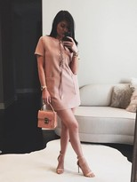 KENDALL + KYLIE Kendall & Kylie Lace Up Safari Dress as seen on Kylie Jenner
