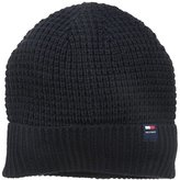 Tommy Hilfiger Men's Ribbed Knit Beanie Hat