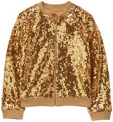 Crazy 8 Sparkle Bomber Jacket