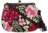 Judith Leiber Floral Embroidered Evening Bag