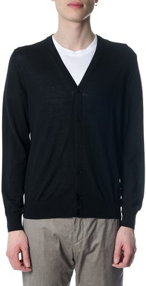 Ermenegildo Zegna Black Wool Vest