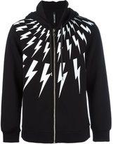 Neil Barrett thunder zipped hoodie