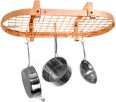 Enclume Low Ceiling Oval Rack with Grid in Copper