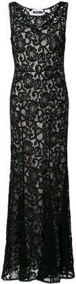 Moschino Lace Overlay Dress