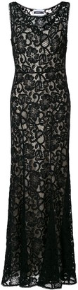 Moschino lace overlay dress