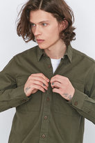 Dickies Tunnelton Olive Herringbone Shirt