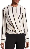 Rag & Bone Max Striped Silk Blouse