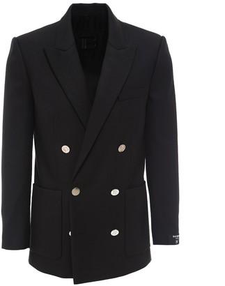 Balmain Double-Breasted Tailored Blazer