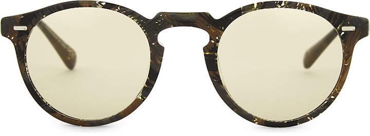 Oliver Peoples Alain Mikli Gregory Pack Phantos-frame sunglasses
