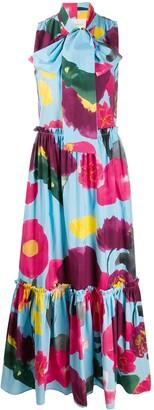 La DoubleJ Lou Lou floral print dress