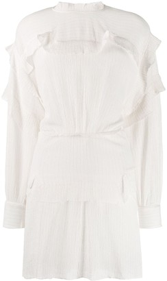 Isabel Marant ruffled mini dress