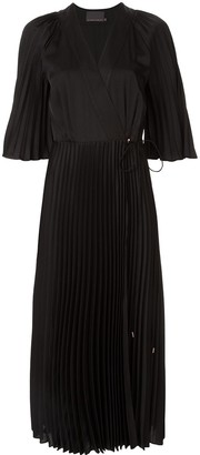 Ginger & Smart Provincial sunray-pleated dress