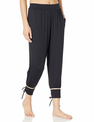 Luli Fama Women's Gold Band Yoga Pants