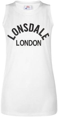 Lonsdale London Long Line Tank Top Ladies