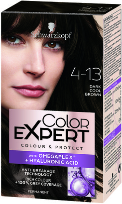 Schwarzkopf Colour Expert Permanent Hair Colour 4.13 Dark Cool Brown