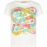 Gucci GUCCIGirls Ivory Floral Snake Top