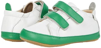 Old Soles Eazy Markert (Infant/Toddler) (Snow/Neon Green) Boy's Shoes