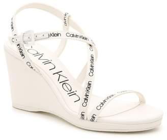 Calvin Klein Bellemine Wedge Sandal