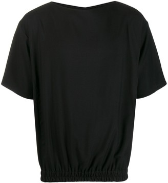 Alchemy elasticated-hem T-shirt