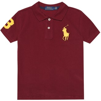 Polo Ralph Lauren Kids Logo cotton polo shirt
