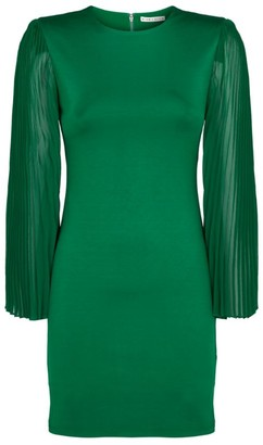 Alice + Olivia Alice+Olivia Zaya Pleated Mini Dress