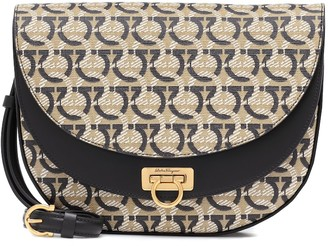 Salvatore Ferragamo Gancini-jacquard shoulder bag