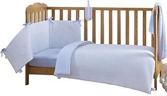 Clair De Lune Cot Bed Set (Pink, Stars and Stripes, 2-Piece)