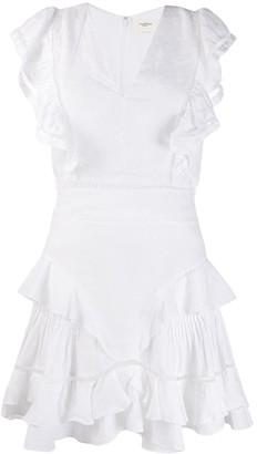 Etoile Isabel Marant sleevless Audrey ruffle dress