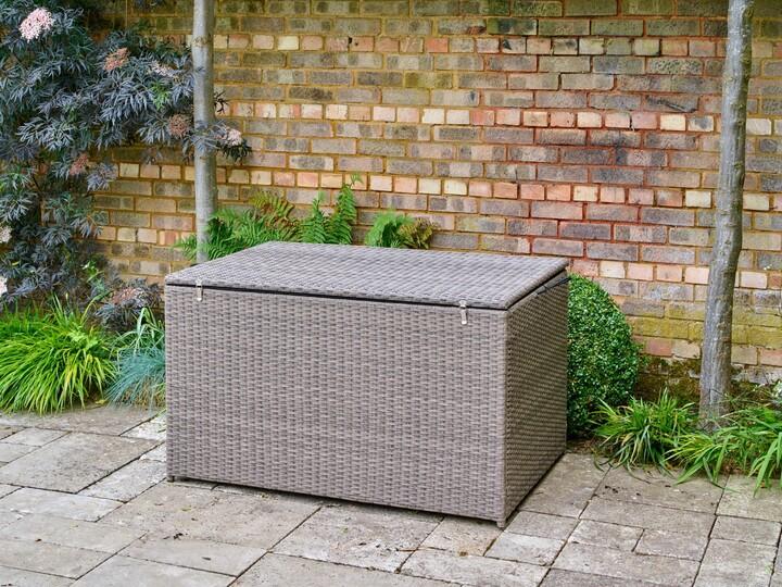 Thumbnail for your product : LG Outdoor Monaco Cushion Storage Box, Oak