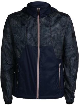 HUGO BOSS Colour-Block Raincoat