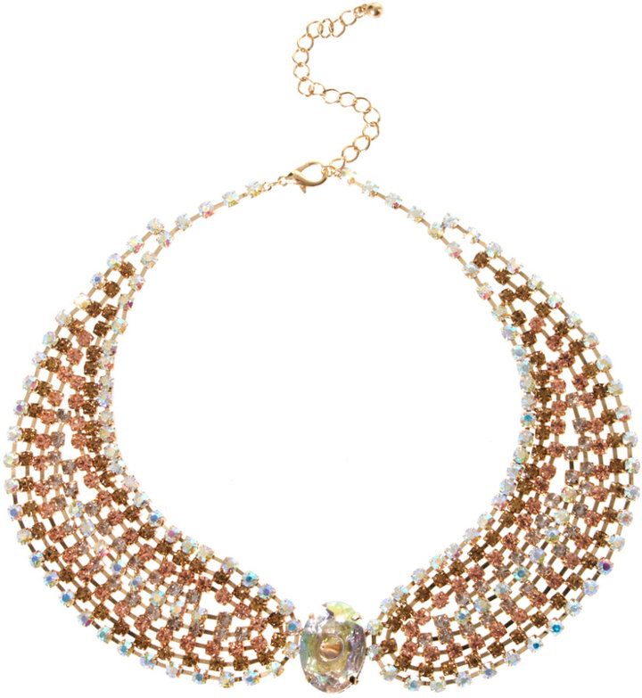 Asos Ombre Jewelled Collar Necklaces