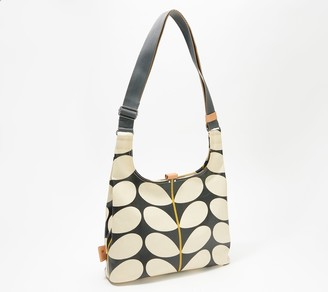 Orla Kiely Coated Canvas Midi Sling Crossbody Bag
