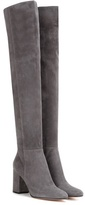 Gianvito Rossi Rolling 85 Over-the-knee Suede Boots