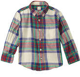 J.Crew J. Crew Crewcuts By Boys' Flannel Woven Shirt