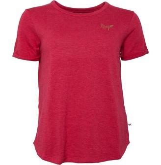 Roxy Womens Oceanholic T-Shirt Cerise