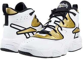 Reebok Avant Guard (White/Gold/Black) Athletic Shoes