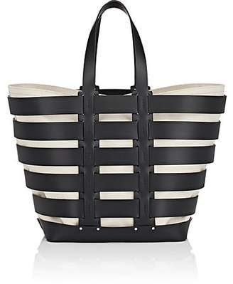 Paco Rabanne Women's Cage Leather Tote - Black