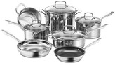 Cuisinart Professional 11 Piece Non-Stick Stainless Steel Cookware Set