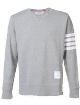 Thom Browne sleeve stripe sweatshirt