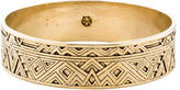 House Of Harlow Etched Bangle