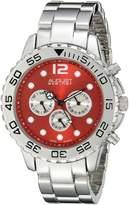 August Steiner Men's AS8158RD Analog Display Swiss Quartz Silver Watch