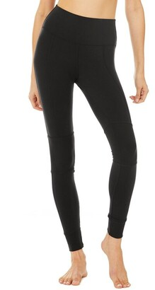 Alo Yoga High-Waist Avenue Legging Black Medium