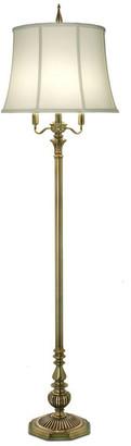 Stiffel   Lite Tops Stiffel Floor Lamp, Antique Brass