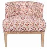 Mistana Ofelia Ikat Low Back Barrel Chair